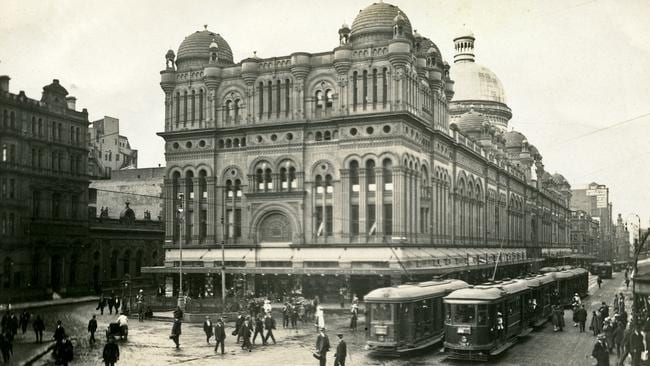 Trams were phased out in favour of buses. Picture: City of Sydney Archives
