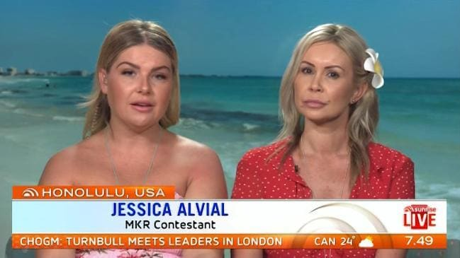 Jess And Emma Discuss Bullying On My Kitchen Rules Following Their  Explosive Fight With Sonya And Hadil. Credit: Sunrise