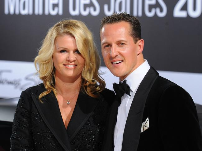 """Schumacher and his wife have been called """"the perfect couple""""."""
