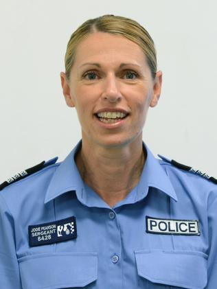 Sergeant Jodie Pearson, WA Police recipient of the Australian Police Medal.