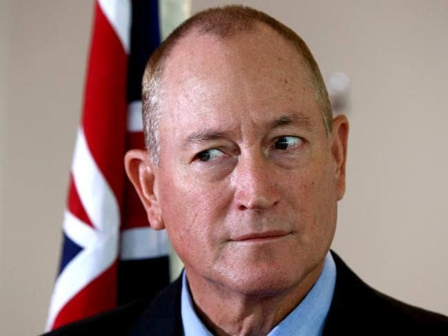 Queensland Senator Fraser Anning. Picture: David Clark