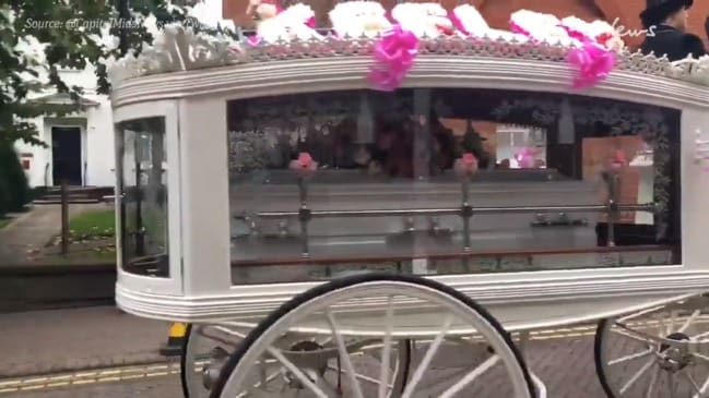 Tamworth turns pink ahead of Keeley Bunker's funeral