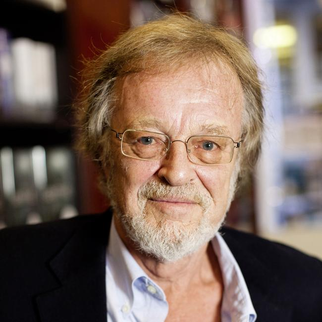 'An inky scribe' … Bernard Cornwell slipped past his readers unnoticed. Photograph by Felix Clay.