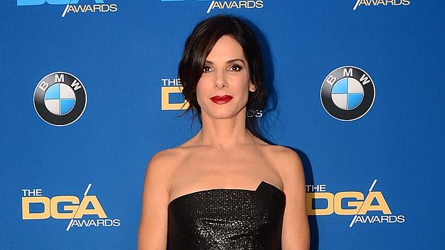 Sandra Bullock added a few years to her age in order to get work at the start of her career. Picture: AFP
