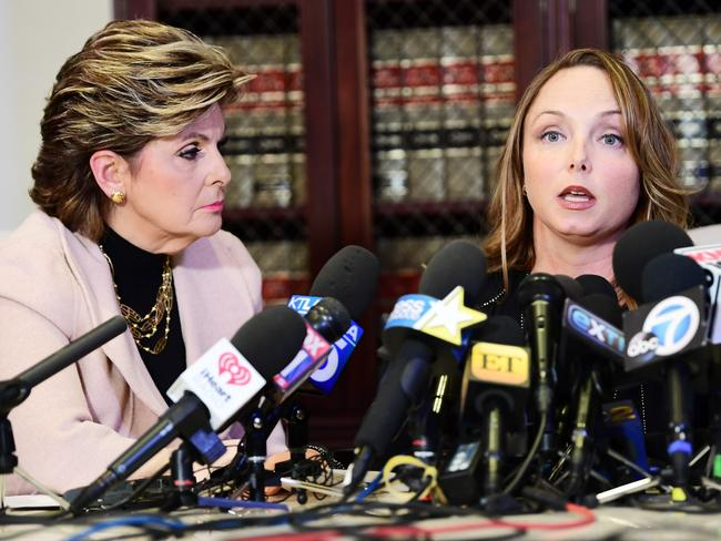 Lawyer Gloria Allred is representing Louisette Geiss who claims Harvey Weinstein sexually harassed her. Picture: Getty