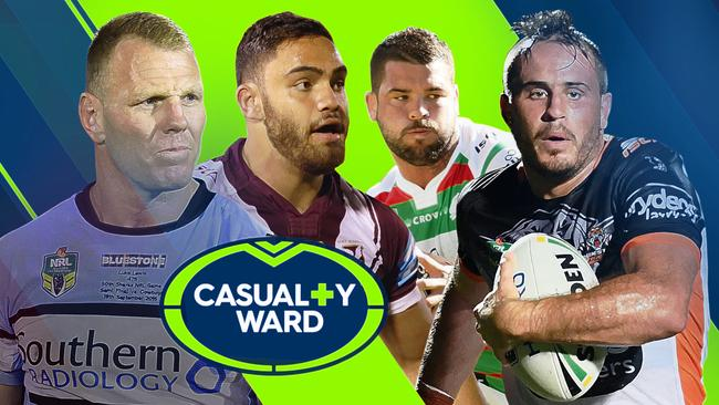 The NRL Casualty Ward after Round 2.