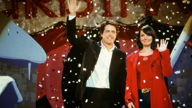 Hugh Grant and Martine McCutcheon. Photo: Working Title