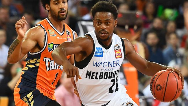 Casper Ware poured in a franchise record 16 points in the final term. Picture: Getty Images