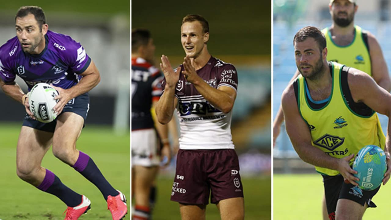 Cameron Smith, Daly Cherry-Evans and Wade Graham.