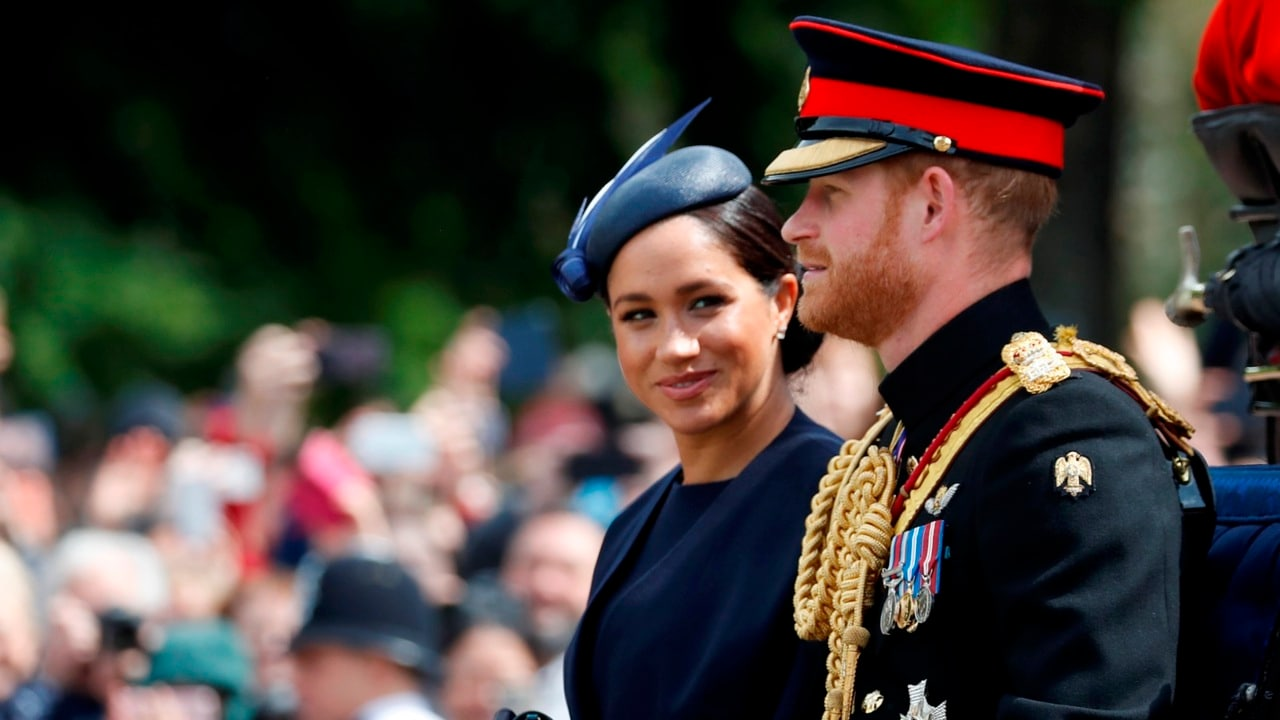 Harry and Meghan to set up own charity