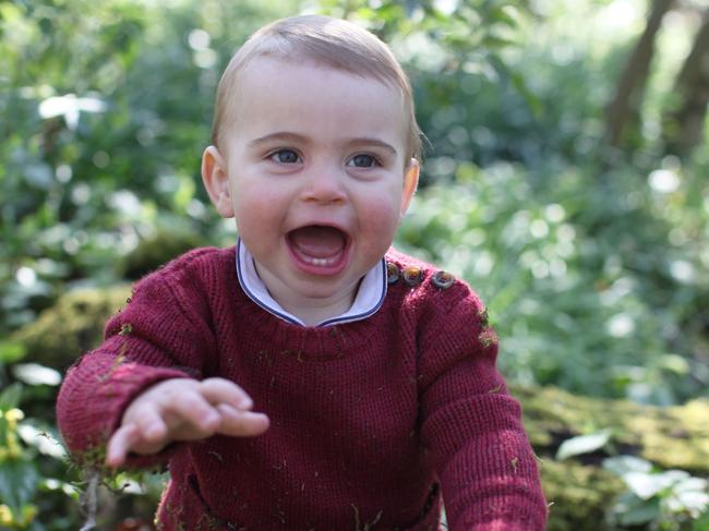 A snap of Prince Louis taken by the Duchess. The Society's Director Michael Pritchard previously praised the Duchess for her talent behind the lens. Picture: Duchess of Cambridge