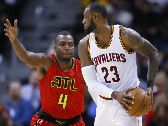 LeBron James was unable to prevent Cleveland's disaster. (AP Photo/Todd Kirkland)