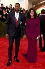 "NBA player Dwyane Wade and Gabrielle Union attend the Met Gala 2015 ""China: Through The Looking Glass"". Picture: Getty"