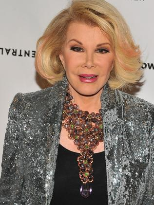 Joan Rivers hosted Fashion Police. Picture: Angela Weiss/Getty Images