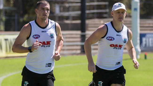 Tom Rockliff will wear No.11 at Port Adelaide this year.