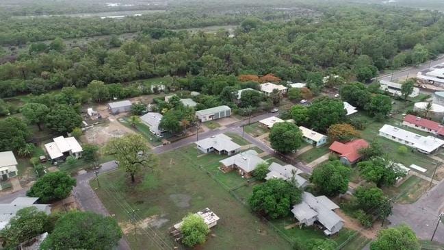 Cyclone Owen drone video Kowanyama