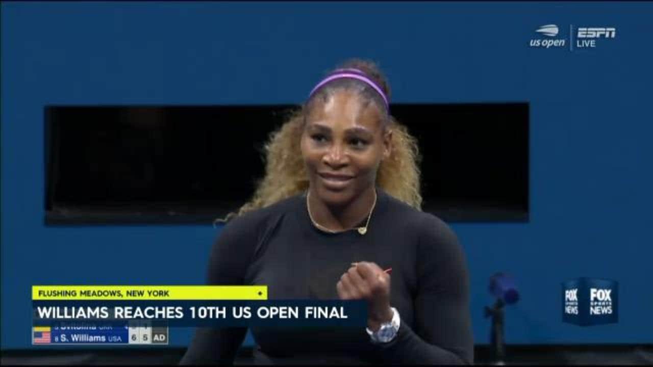 Serena Williams smashes Elina Svitolina in US Open rout