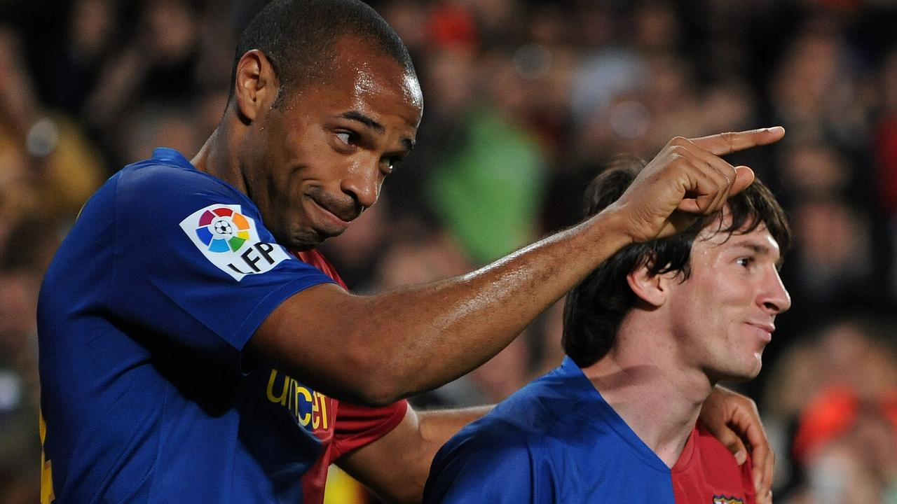 He may have been past his prime, but seeing Henry line up alongside Messi was brilliant.