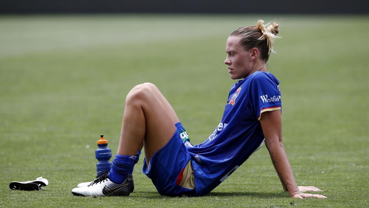 Emily van Egmond will miss the remainder of the W-League season.