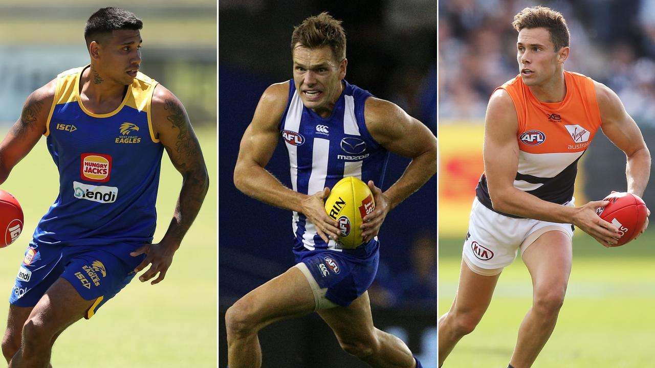 Champion Data list ratings: Featuring Tim kelly's West Coast, Shaun Higgins' North Melbourne and Josh Kelly's Giants.