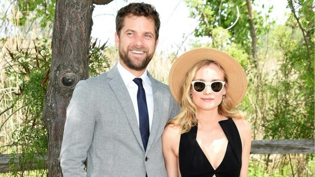 Joshua Jackson and Diane Kruger in happier days. Photo: Getty