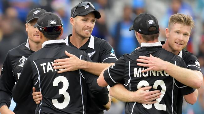 New Zealand are in the World Cup final. Picture: AFP