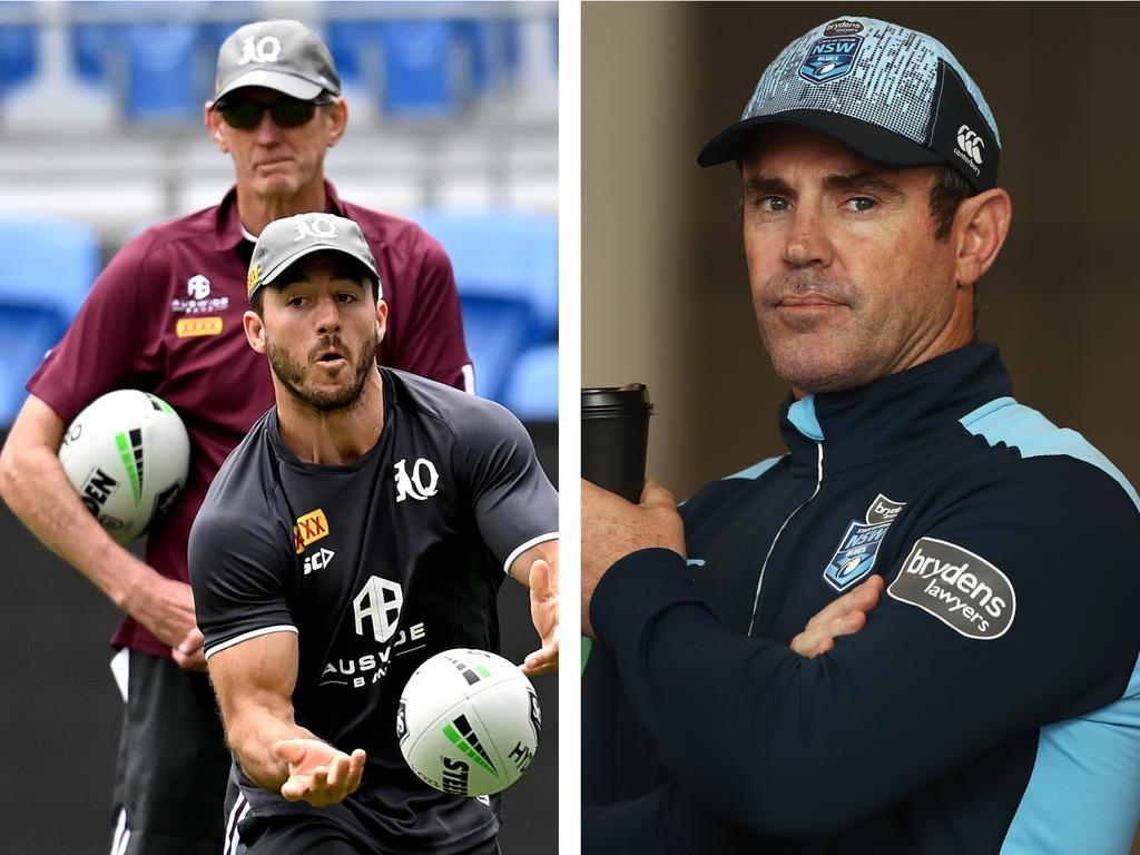 Wayne Bennett is back for Queensland to take on Brad Fittler's Blues.