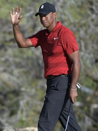 Tiger Woods notched back-to-back top five finishes.