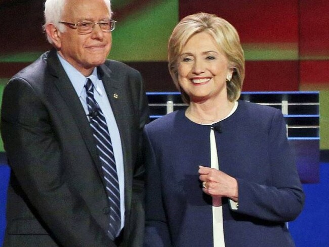 Bernie Sanders gave Hillary Clinton a tougher fight then many expected. Picture: Supplied
