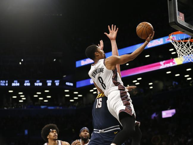 Nets guard Spencer Dinwiddie has flourished in Irving's absence.