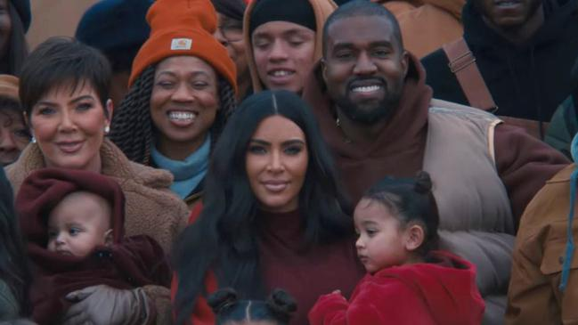 Kanye West's weird Closed On Sunday video features Kim Kardashian and kids