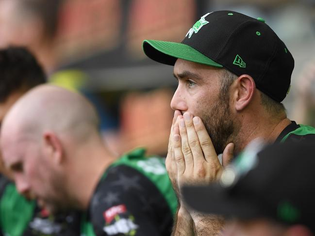Stars skipper Glenn Maxwell couldn't believe what transpired.