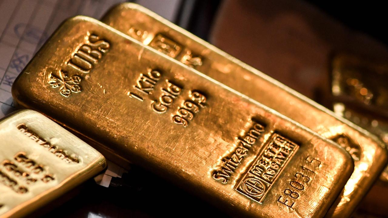 ASX in the red but gold stocks shine
