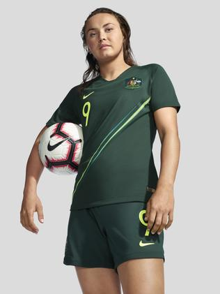Caitlin Foord in the Matildas' 2019 Women's World Cup alternate strip. Pic: Nike