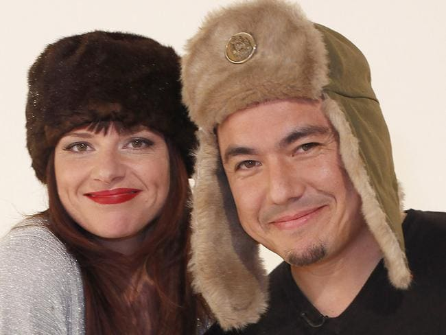Julia Zemiro and Sam Pang are hosting Eurovision. Picture: Supplied