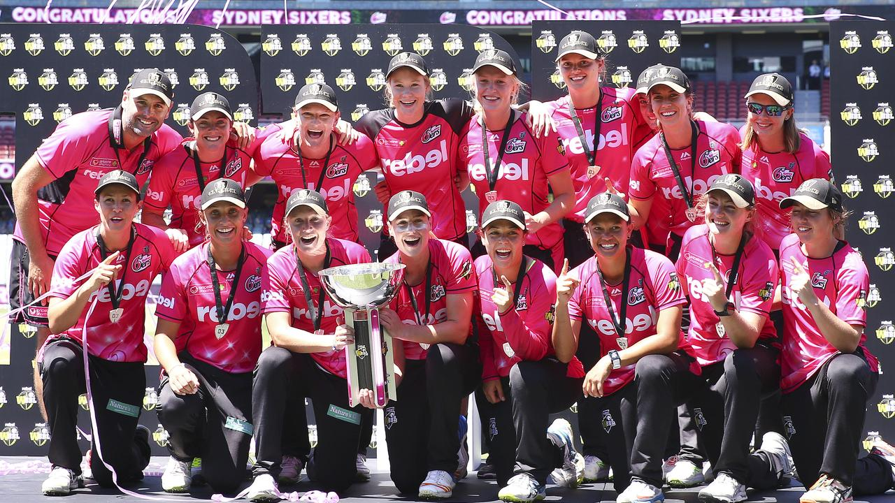 Sydney Sixers have won the last two tournaments. Photo: Sarah Reed.