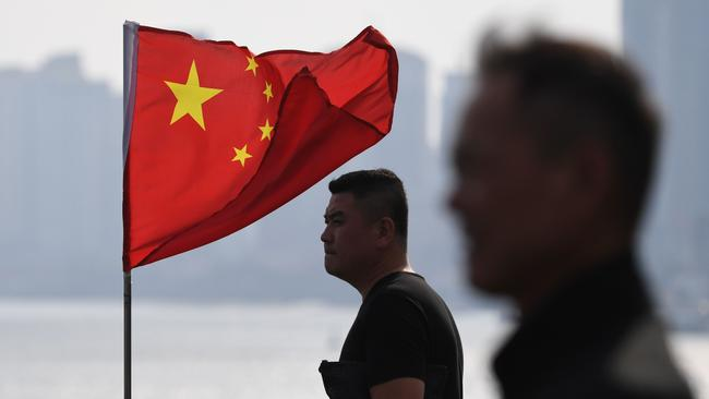China is hemmed in by US installations and allies close to its shores in the so-called First Island Chain. But a few missiles might stop that. Picture: AFP/Greg Baker