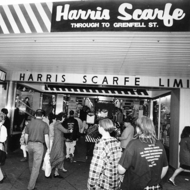 Harris Scarfe is SA's oldest retailer.
