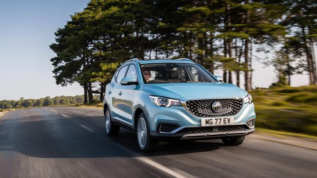 The 2019 MG EZS could be Australia's cheapest electric SUV.