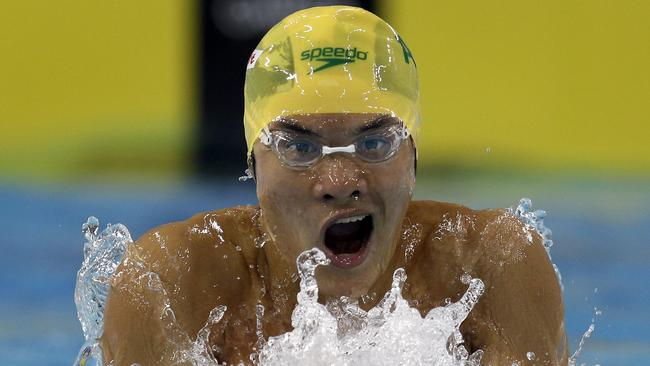 Former Australian swimmer Kenneth To has died aged 26. Picture: AP