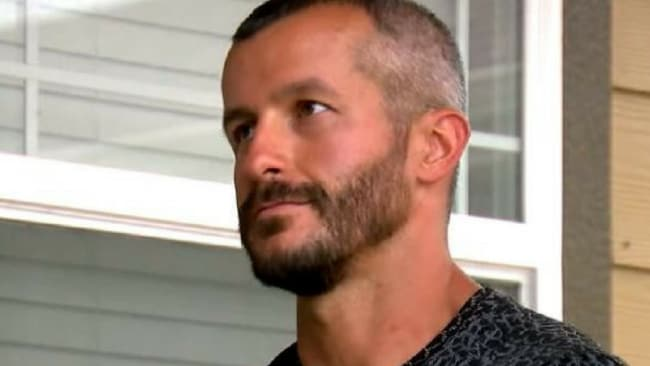 A body language expert says Chris Watts may have tried to maintain a poker face during his interviews with Denver TV outlets in a bid appear innocent. Picture: Denver 7Source:Supplied