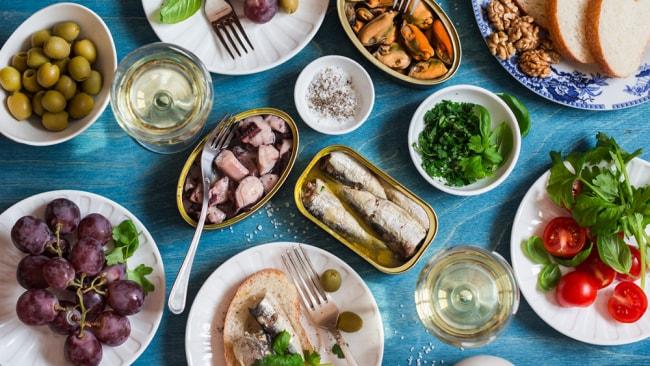 The Mediterranean Diet has been named the top diet of 2019. Image: iStock.