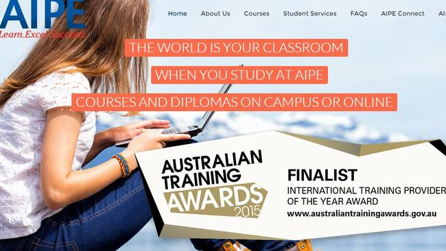 Just a month after being named a finalist in the government's training awards, the business has been deregistered.