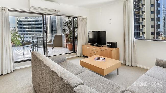The 138 square metre apartment is right in the heart of Sydney. Picture: Realestate.com.au