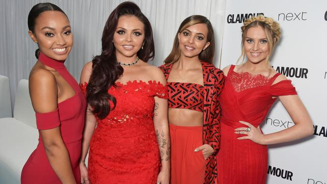 Leigh-Anne Pinnock, Jesy Nelson, Jade Thirwall and Perrie Edwards of Little Mix attend the Glamour Women Of The Year awards in 2015. Picture: David M. Benett/Getty