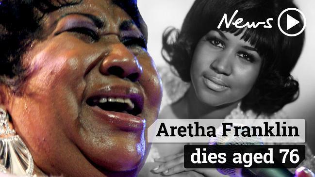 Aretha Franklin dies aged 76
