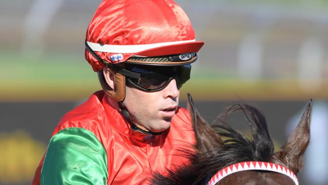 Jockey Chris Williams could have a big day out at Hawkesbury with three top chances. Picture: AAP