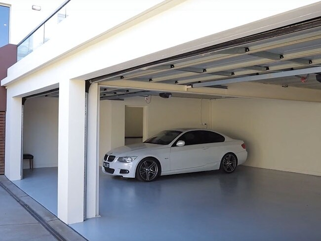 The large garage will be attractive to buyers. Picture: realestate.com.au