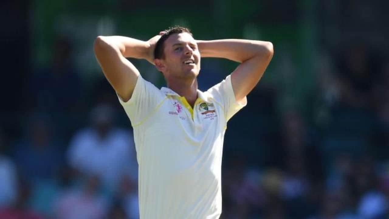 Injured Hazlewood ruled out