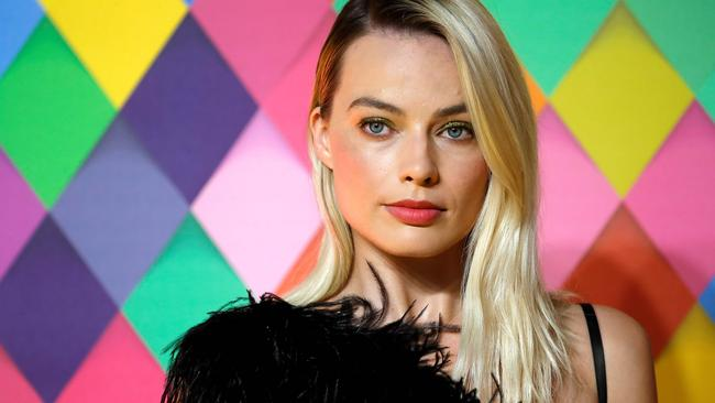 Margot Robbie starred in and also produced the film. Picture: Tolga AKMEN / AFP